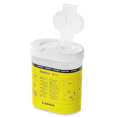 Medibox Entsorgungsbehälter für Kanülen