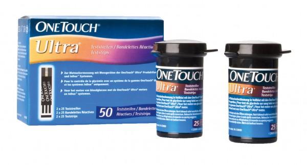 One Touch Ultra Blutzucker-Teststreifen