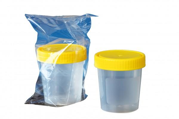 Urinbecher 125ml steril einzeln