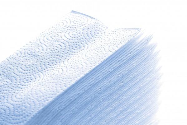 """Fripa Papierhandtücher """"Hochweiß"""", 2-lagige Tissue-Qualität"""