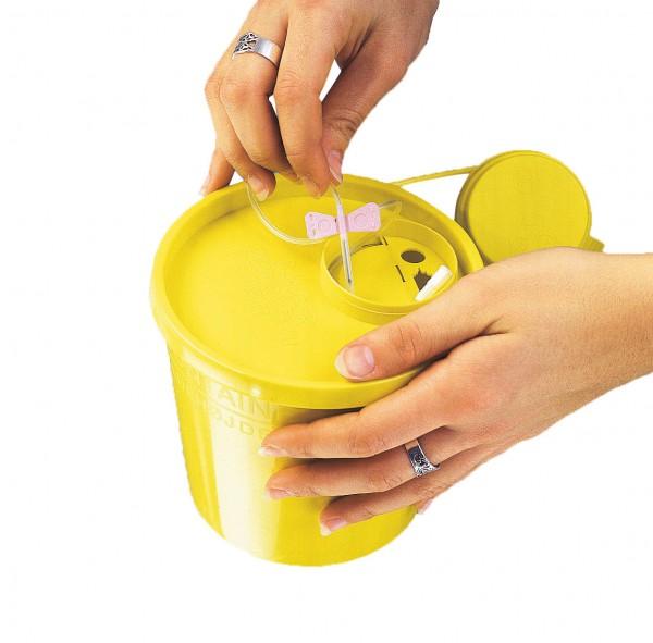 Servobox Kanülenabwurfbehälter 500 ml